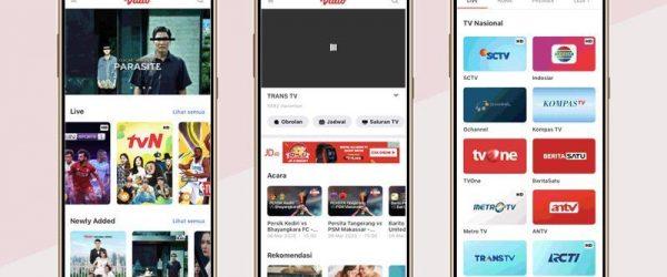 7. Aplikasi Nonton Tv Paling Banyak Unduh